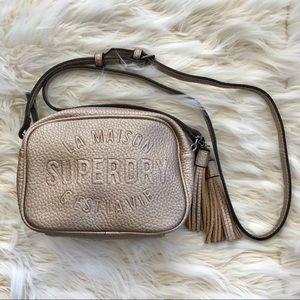 Handbags - SUPERDRY Gold Crossbody Bag